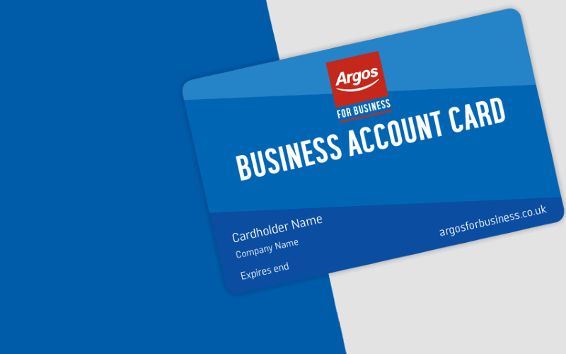 Argos For Business Account Card